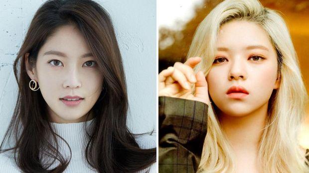 Jeongyeon TWICE dan Gong Seungyeon