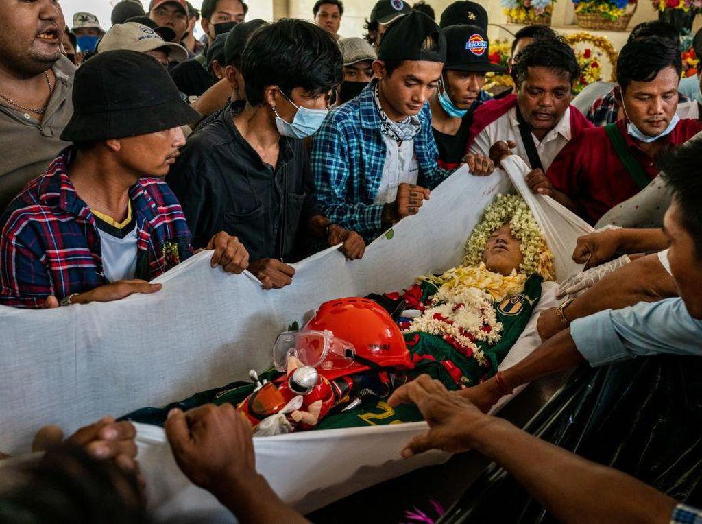 Seratusan Nyawa Hilang Bikin Junta Myanmar Dihujani Kecaman
