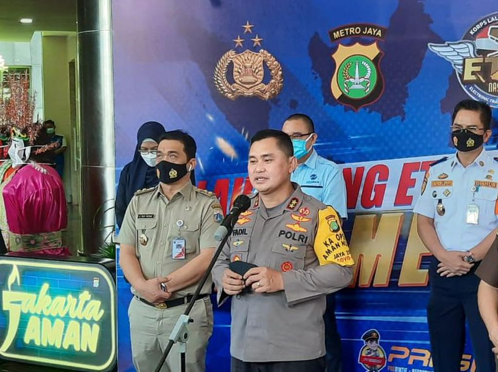 Kapolda Metro Sebut Pelanggaran Lalin di Sudirman Turun 64%, Berkat e-TLE
