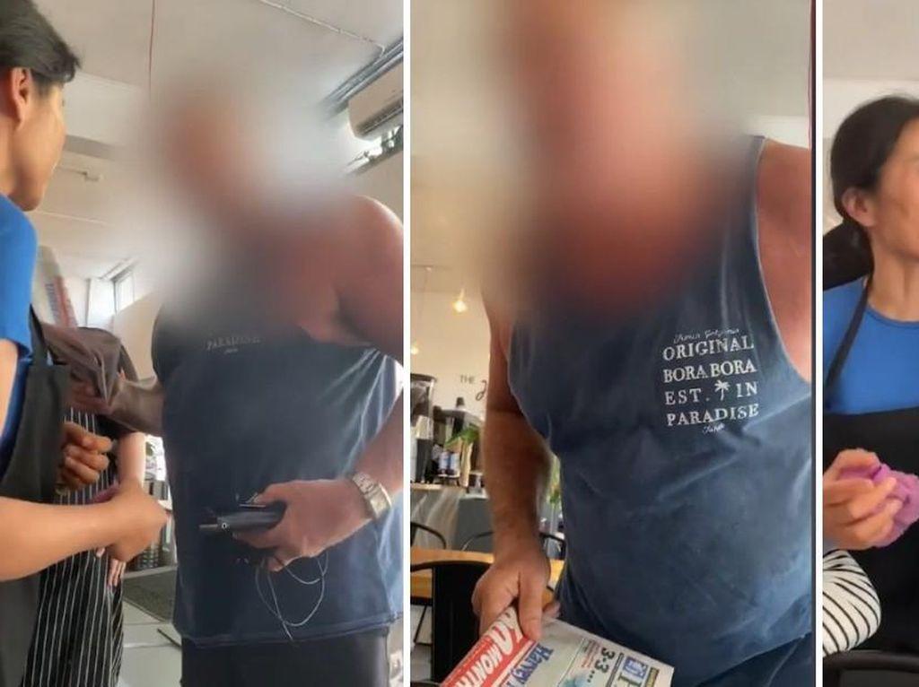 Keren! Pemilik Kafe Ini Usir Pelanggan Rasis yang Serang Orang China