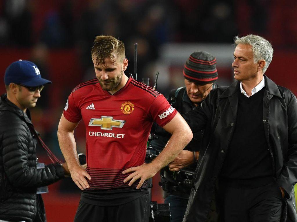 Luke Shaw Krisis Pede di Era Mourinho