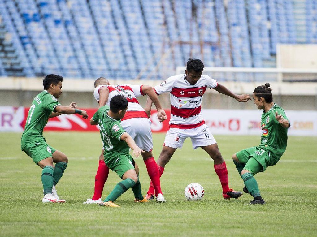 Piala Menpora 2021: PSS Akui Kalah Stamina dari Madura United