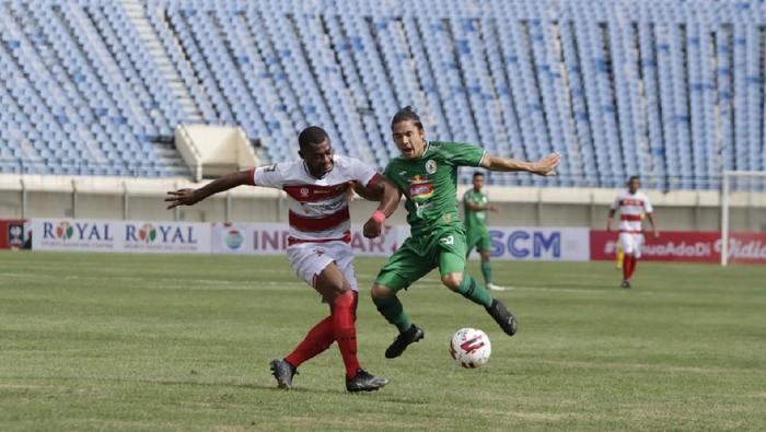 Madura United mengungkap kunci comeback saat melawan PSS Sleman di Piala Menpora 2021.