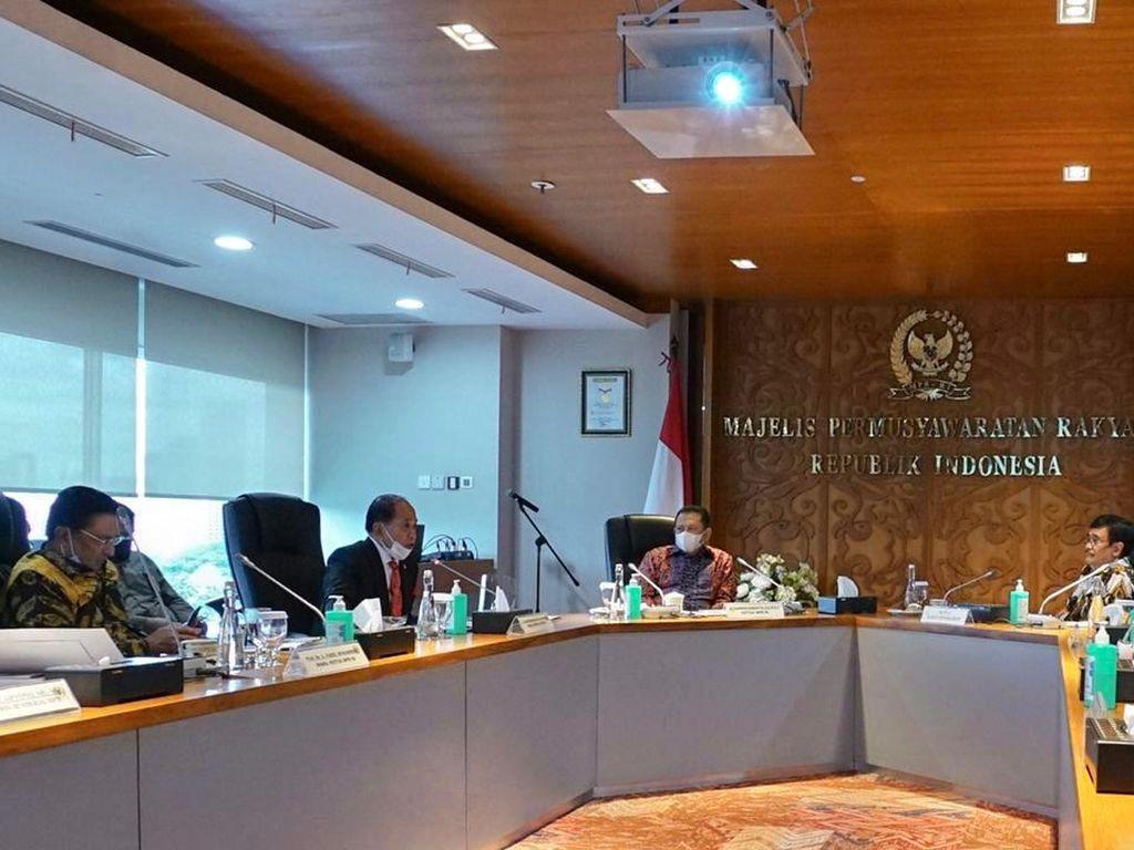 Badan Pengkajian MPR Matangkan Substansi Pokok-pokok Haluan Negara