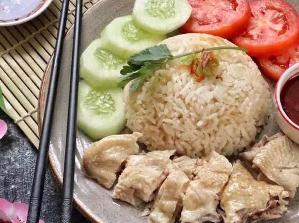Resep Pembaca : Nasi Ayam Hainan ala Restoran yang Gurihnya Mantap