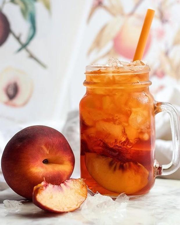 Peach Rooibos Ice Tea