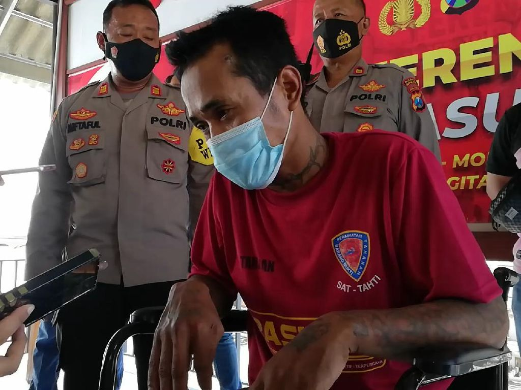 Pelaku Penusukan Kuli Bangunan Hingga Tewas di Pasuruan Tertangkap