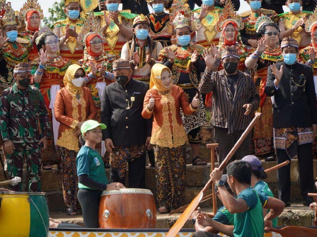 Festival Mojotirto, Pemkot Mojokerto Tebar Benih Ikan-Lepas Atlet PODSI