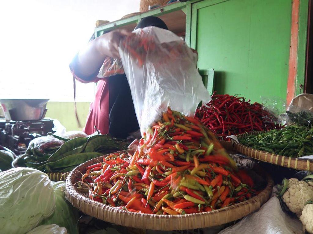 Guyur Cabai 195 Ton ke Pasar, Kementan Klaim Harga Turun Jadi Rp 60 Ribu/kg
