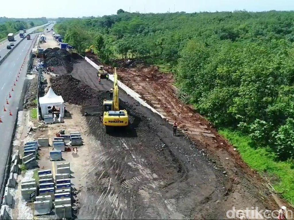 Perbaikan Tol Cipali yang Amblas Capai 85 Persen