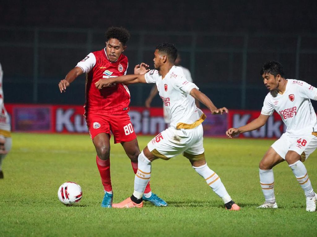 Piala Menpora 2021: Kalah dari PSM, Persija Disebut Loyo