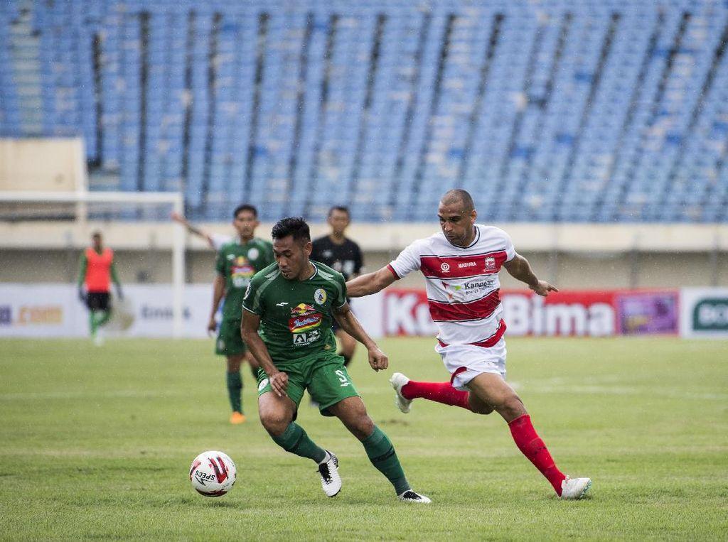 Hasil Piala Menpora 2021: Comeback, Madura United Taklukkan PSS 2-1