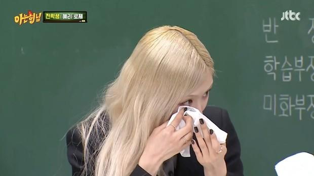 Rosé menjadi emosional ketika membagikan momen yang paling ia ingat dari Hyeri Girl's Day