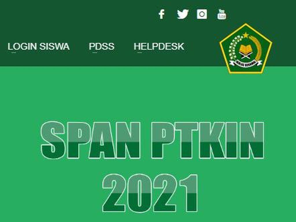 Hasil SPAN-PTKIN 2021 Diumumkan, Cek di pengumuman.span-ptkin.ac.id
