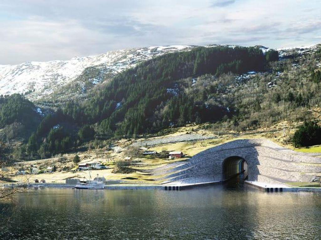 Norwegia Bikin Terowongan untuk Kapal, Pertama di Dunia Lewati Lautan Ganas