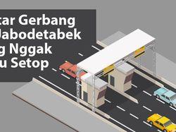 Daftar Gerbang Tol Jabodetabek yang Bisa Bayar Tanpa Setop