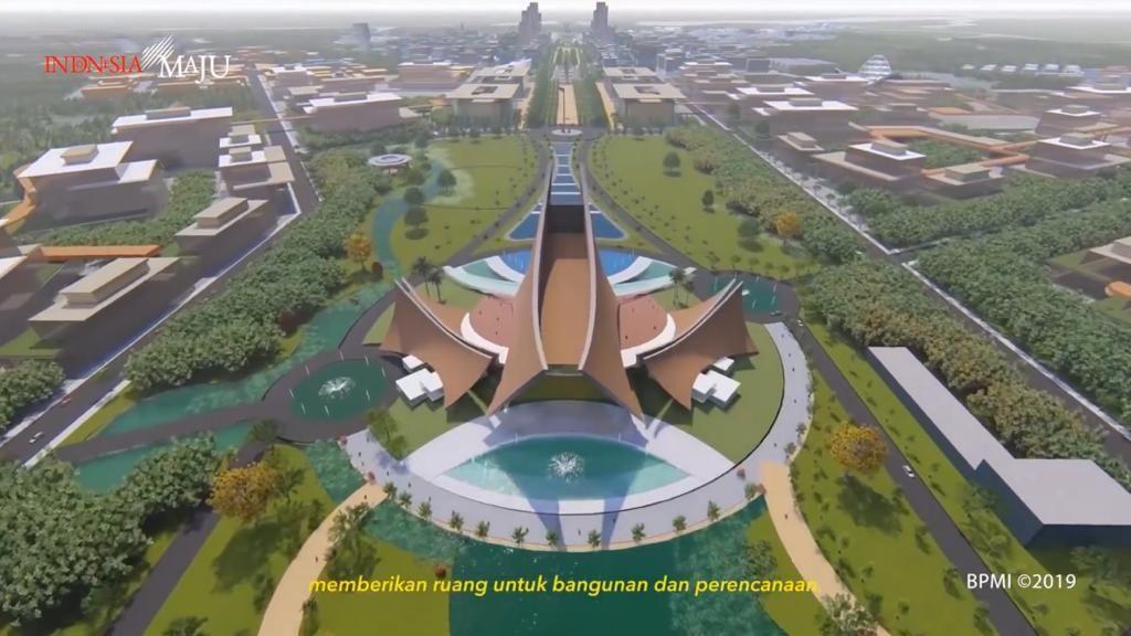 Intip Penampakan Desain Istana Negara yang Konon Dibangun Tahun Ini