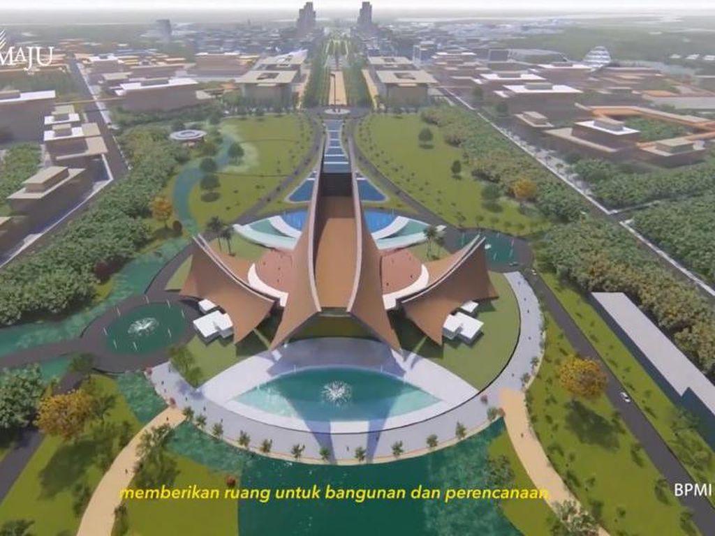 Mengintip Bocoran Rancangan Istana Presiden di Ibu Kota Baru