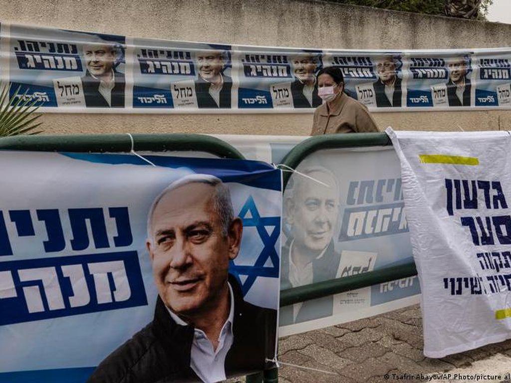 Exit Poll Pemilu Israel Isyaratkan Netanyahu Temui Jalan Buntu
