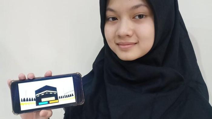 Game of Hajj, game bertema ibadah haji Buatan Siswa MTs NU Banat di Kudus menang medali emas ajang ASEAN Innovative science Environmental, Entrepreneur Fair (ASEEF) tahun 2021.