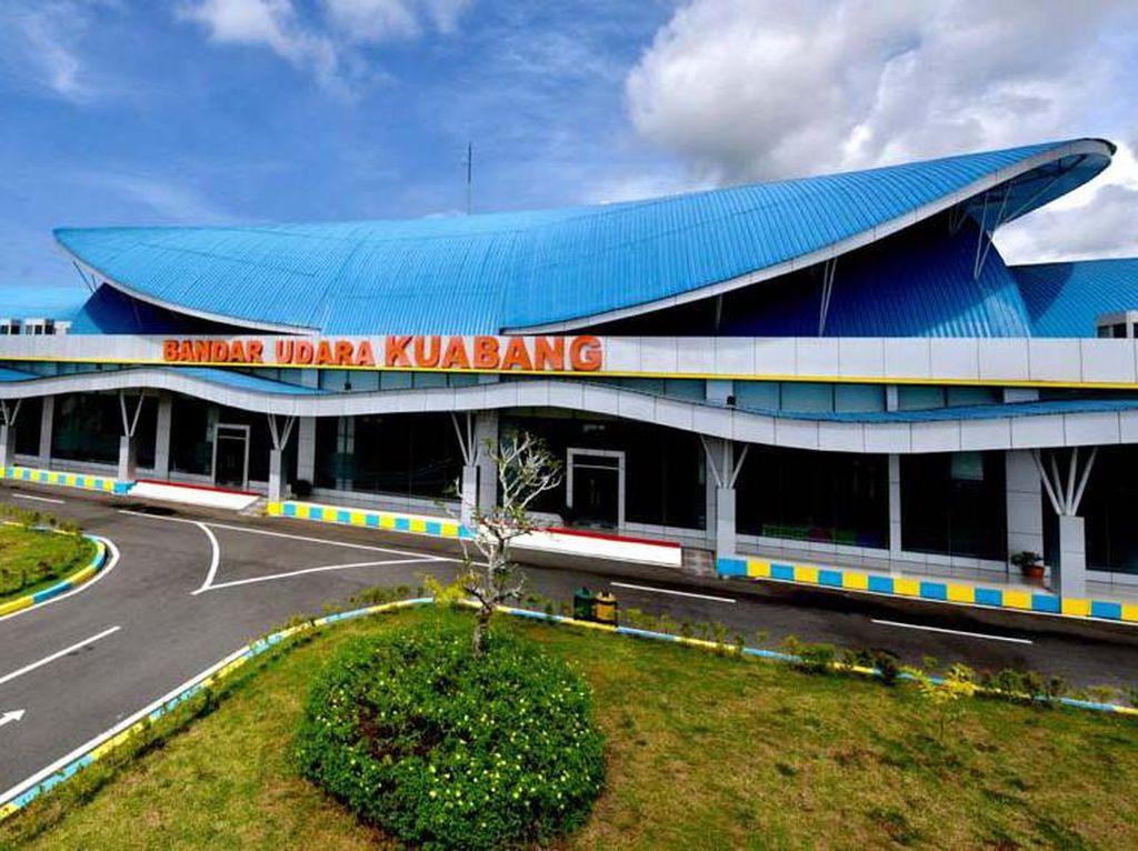 Profil Bandara Kuabang yang Baru Diresmikan Jokowi