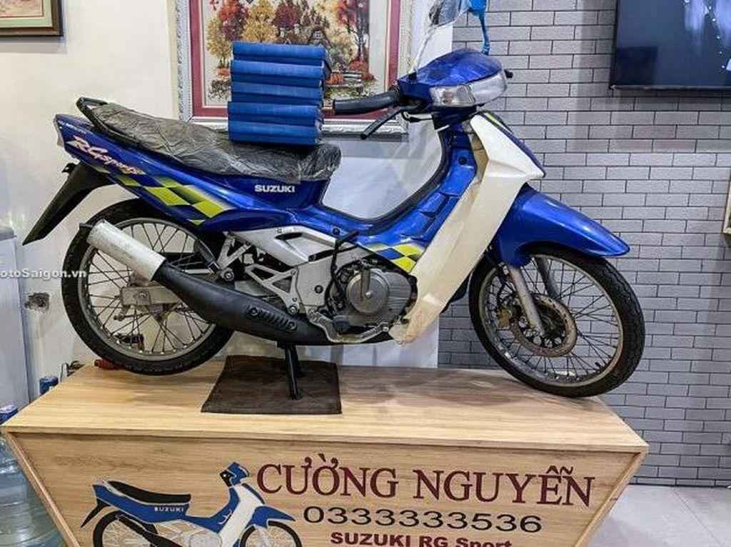 Siapa Minat Beli? Kembaran Suzuki Satria Ini Dijual Seharga Hampir Rp 500 Juta!