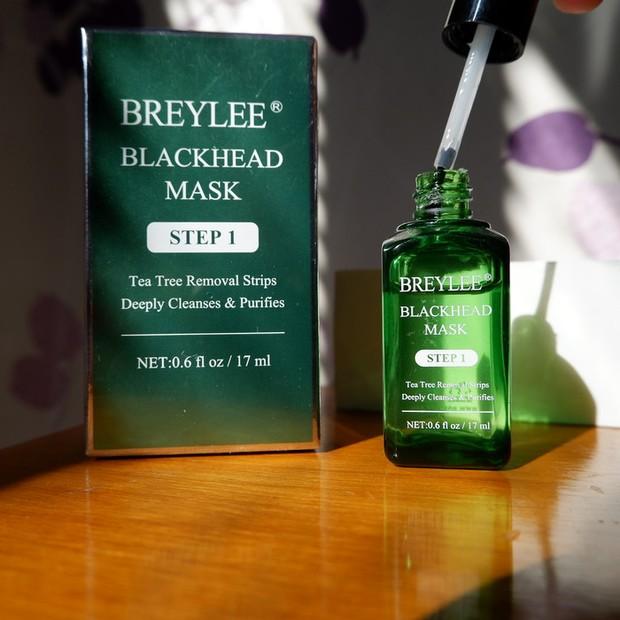 Oleskan masker Brylee sebanyak dua tumpuk/lazada.co.id