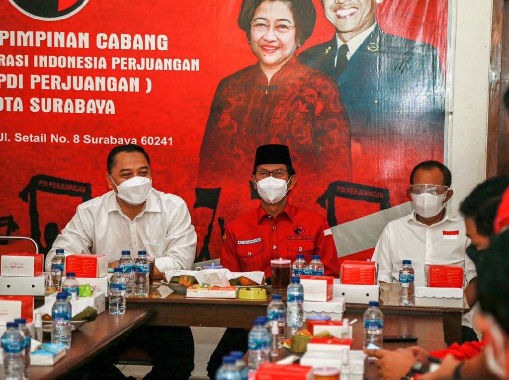 PDIP Surabaya Ketemu Eri-Armuji Bahas Kepentingan Wong Cilik