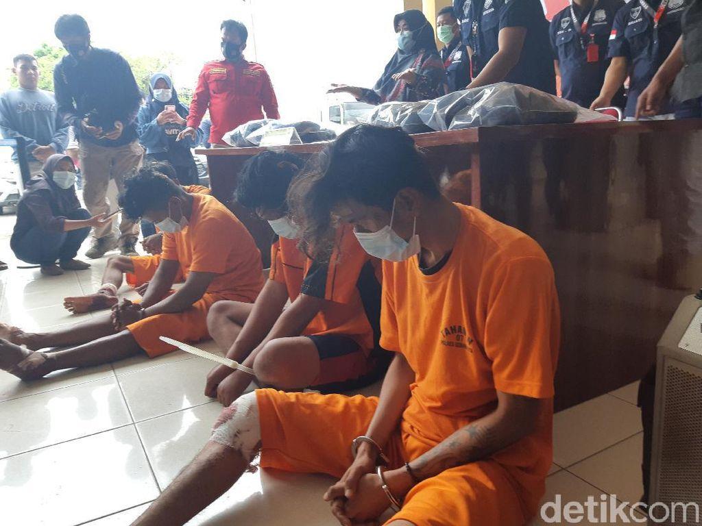 Pria Tewas Dibacok di Pasar Rau Serang, 3 Pelaku Ditembak Polisi