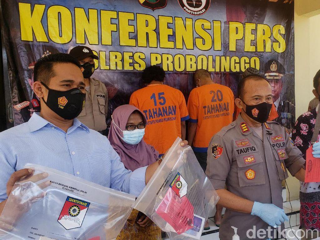 Polisi Tangkap Bajing Loncat di Jalur Pantura Probolinggo