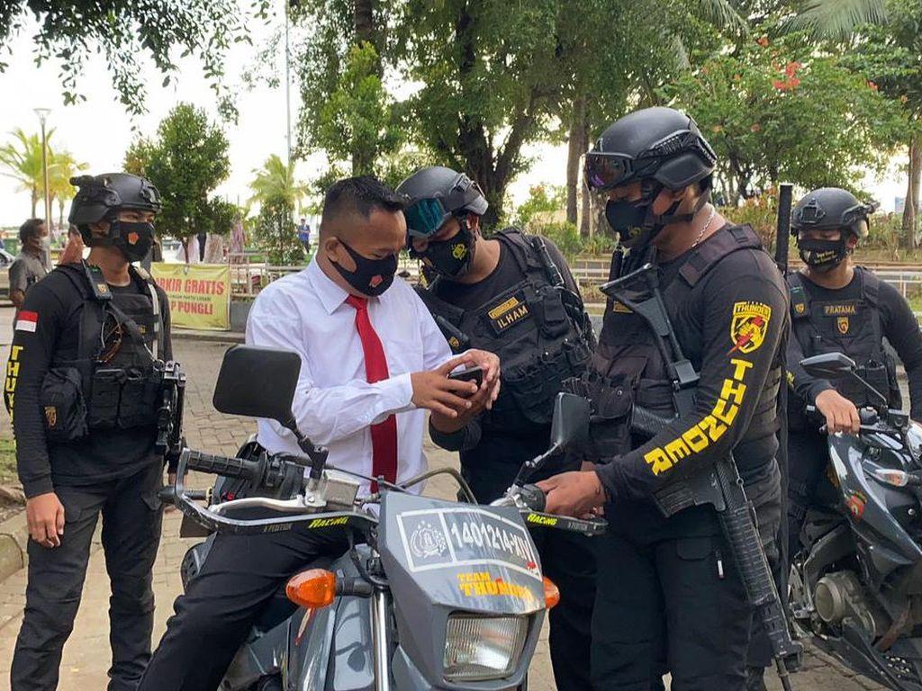 Jadi Polisi Gadungan di Pantai Losari Makassar, Pegawai Resto Ditangkap