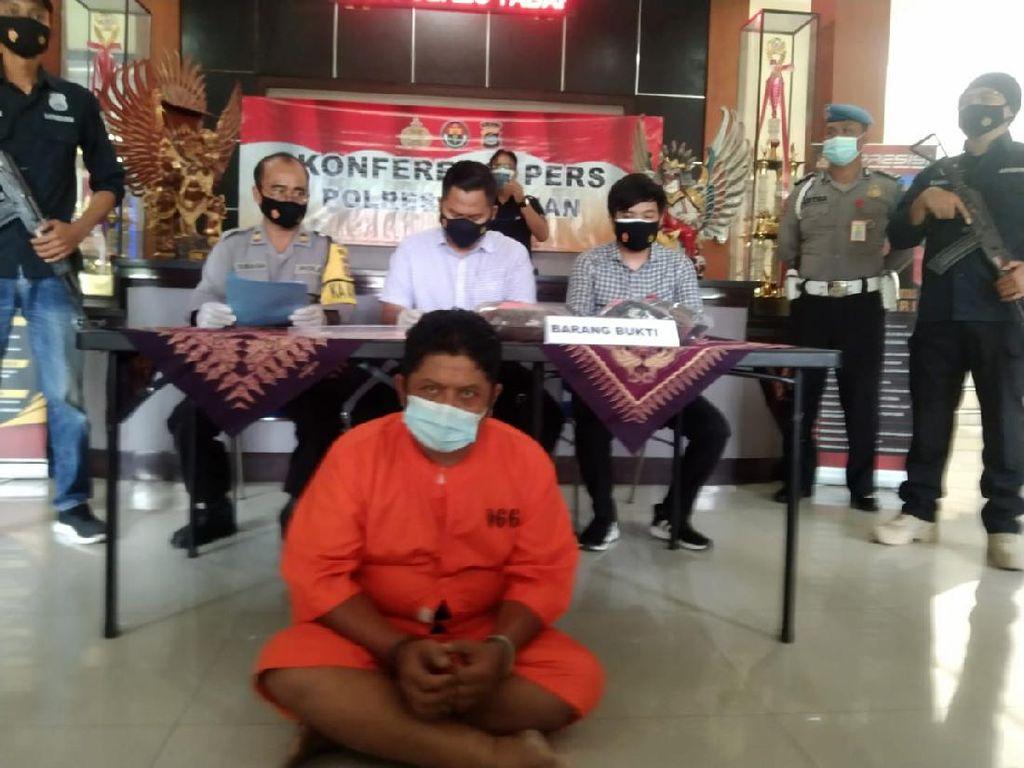 Marah Disebut Lemah, Residivis di Bali Tikam Dokter Hewan hingga Tewas