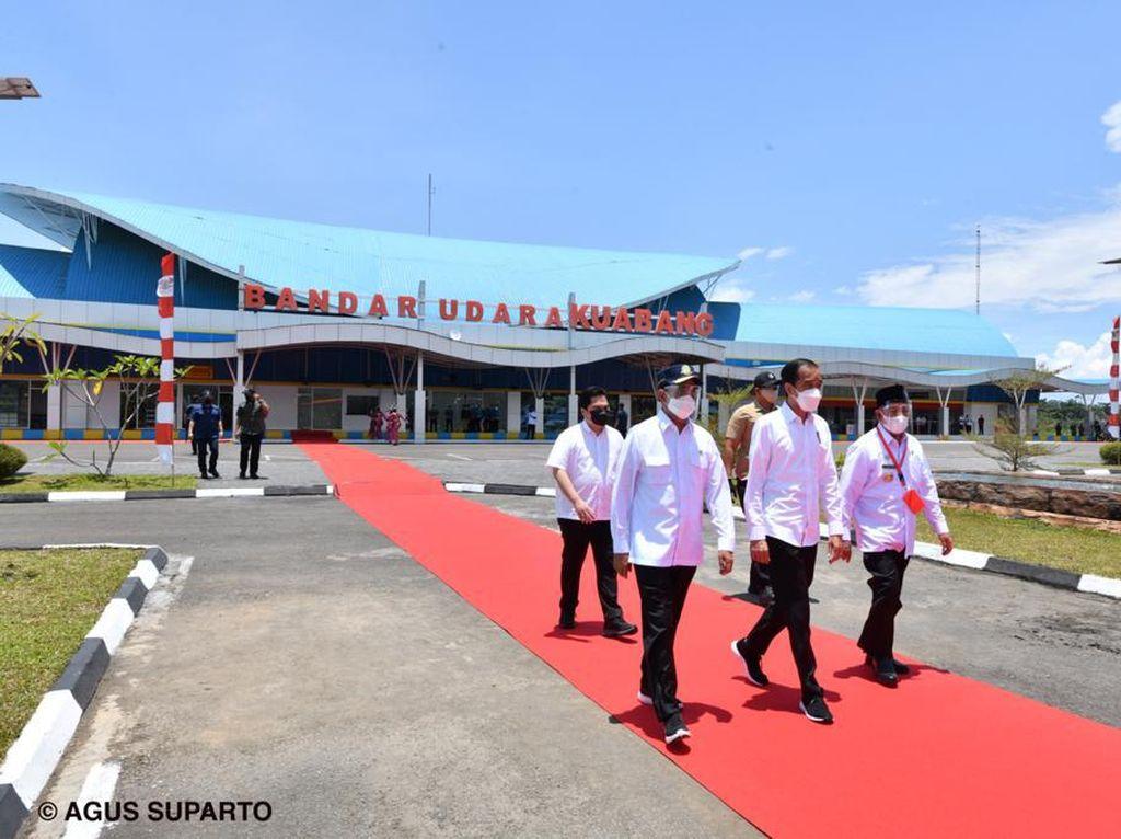 Bandara Kuabang Diresmikan, Wisata ke Halmahera Utara Kian Mudah