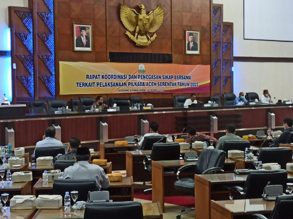 DPRA-Pemprov Mau Minta Waktu Bertemu Jokowi Bahas Pilkada Aceh 2022