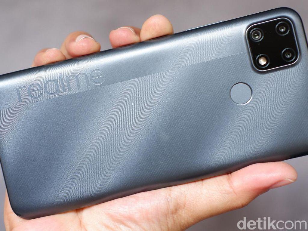 Realme C25, Ponsel Rp 2 Juta Tahan Banting