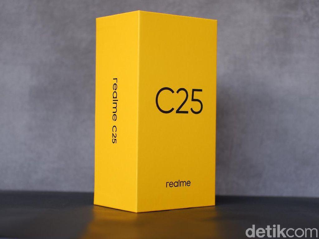 Wujud Realme C25, HP Rp 2 Jutaan Diklaim Tahan Banting