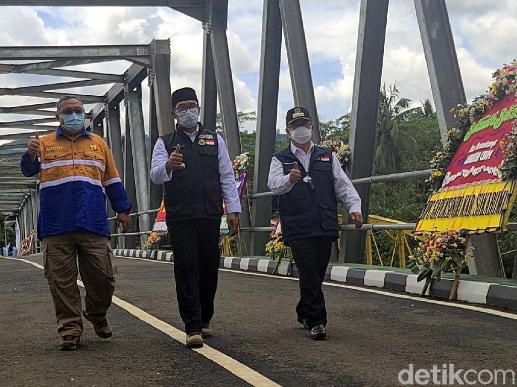 Ridwan Kamil Sebut Jembatan Cibuni Bisa Genjot Wisata Sukabumi-Cianjur