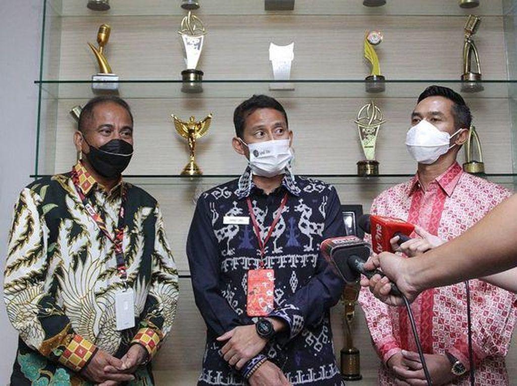 Sandiaga Kolaborasi Bareng Menpar Arief Yahya dan Anindya Bakrie