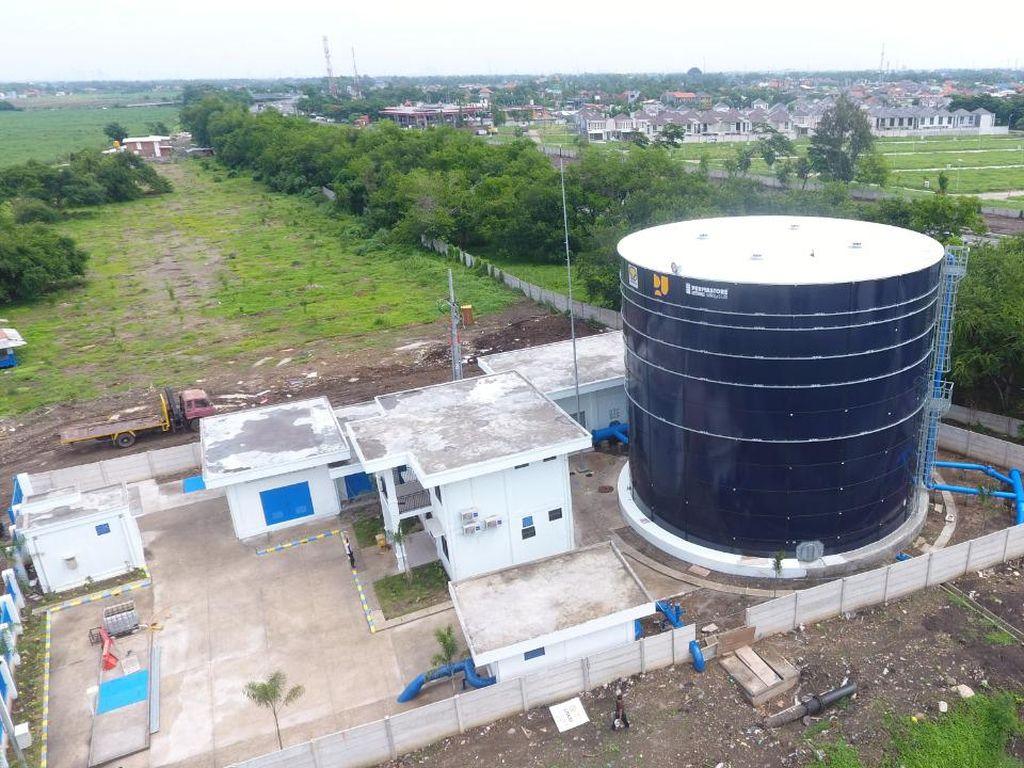 Diresmikan Jokowi, SPAM UmbulanBisa Produksi Air 4.000 Liter/Detik