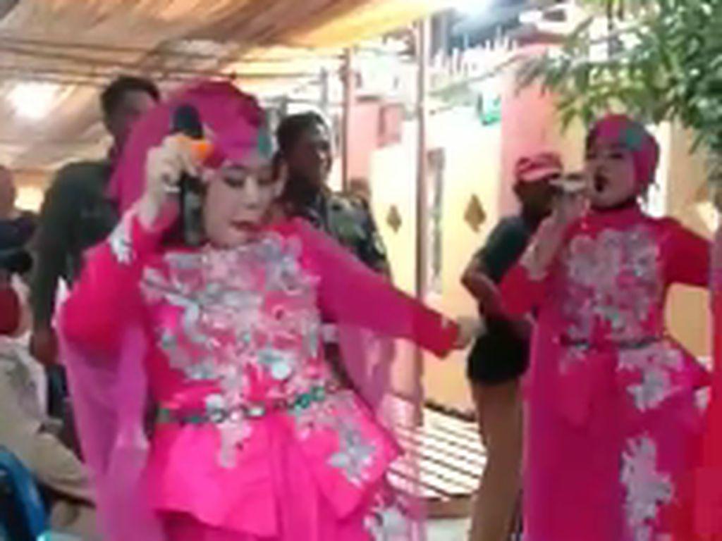 Polisi Selidiki Petugas Satpol PP Sidrap Joget-joget di Pesta Pernikahan