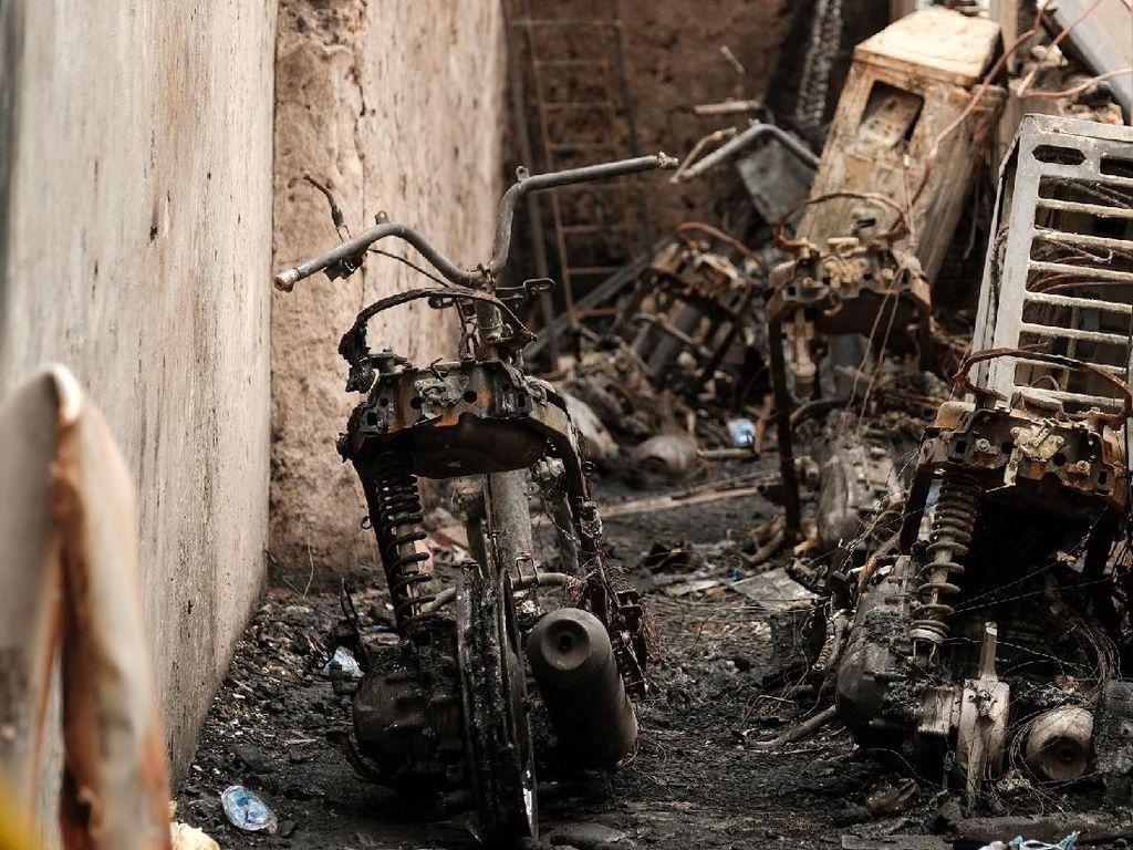 Kisah Pilu Kebakaran di Gang Buntu Matraman