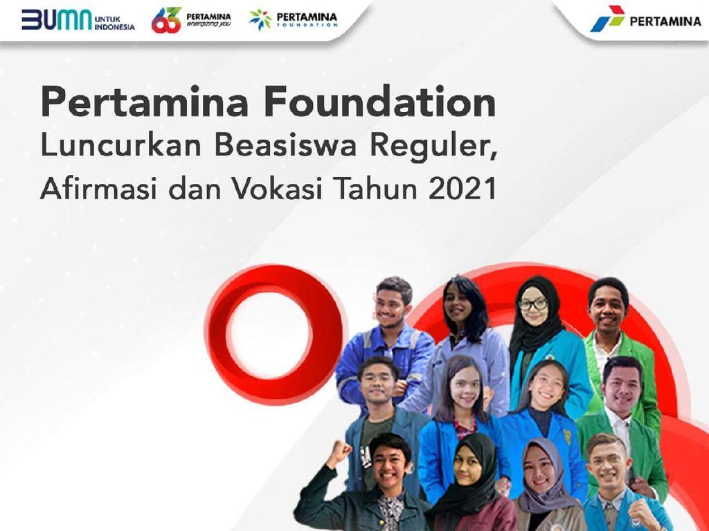 Pengumuman! Pertamina Foundation Buka Beasiswa untuk 300 Mahasiswa 29 Maret