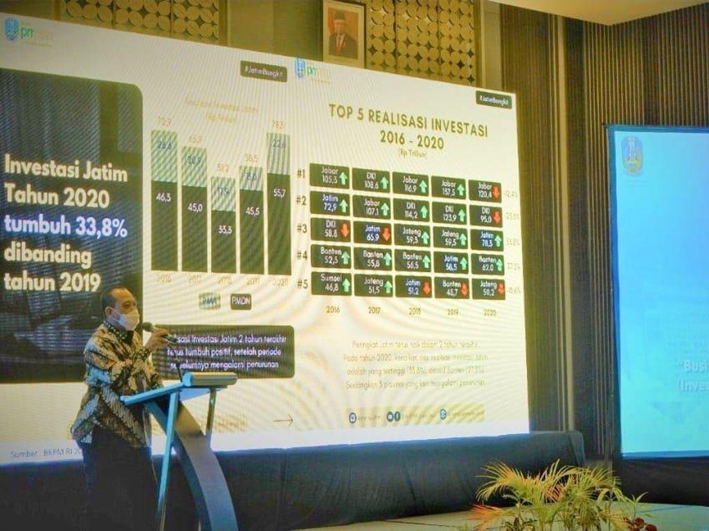 Business Networking Forum, Kiat Pemprov Jatim Promosikan Peluang Investasi
