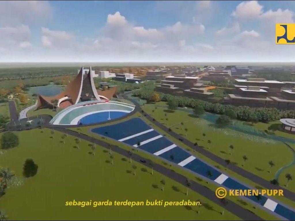 Belum Ada UU, Istana Ibu Kota Baru Bisa Dibangun Tahun Ini?