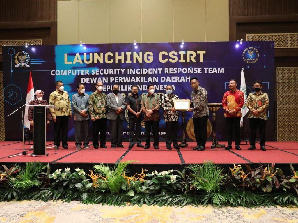 Tingkatkan Sistem Keamanan Siber, DPD Luncurkan Program CSIRT