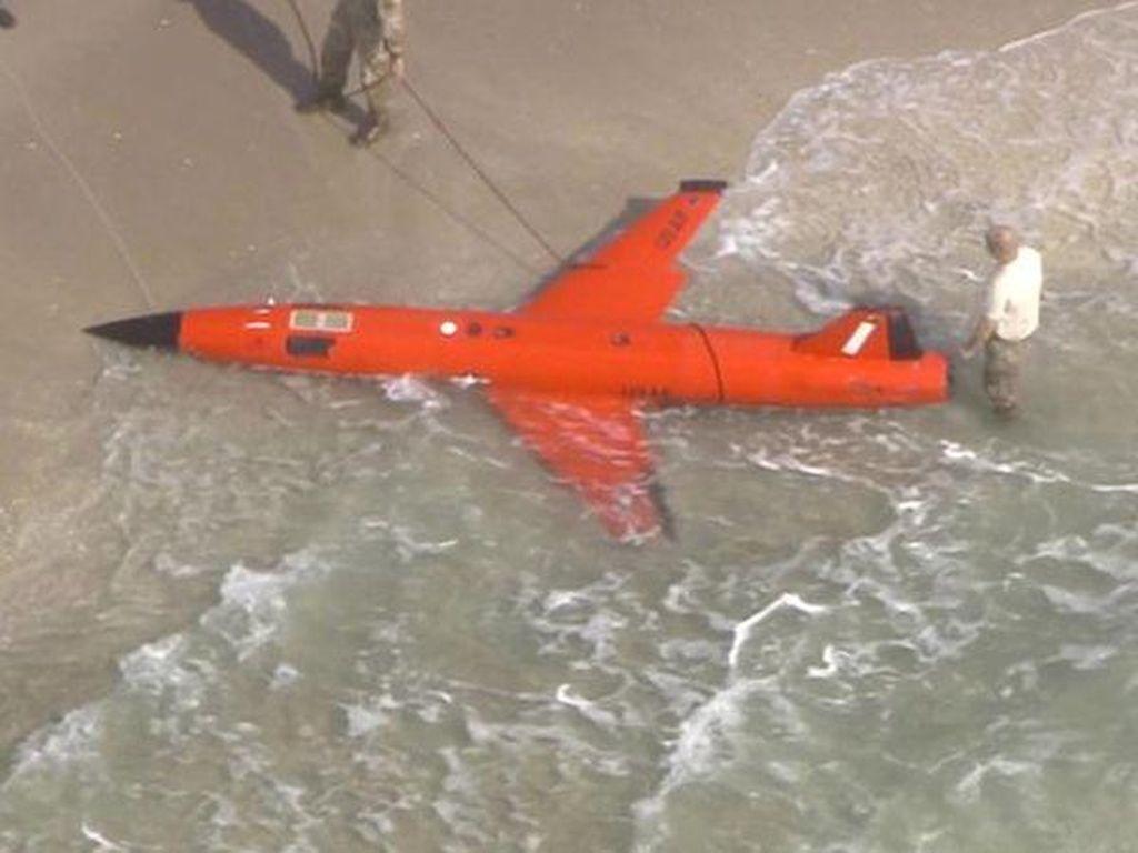Waduh, Drone Milik Tentara Amerika Ditemukan di Pantai Florida