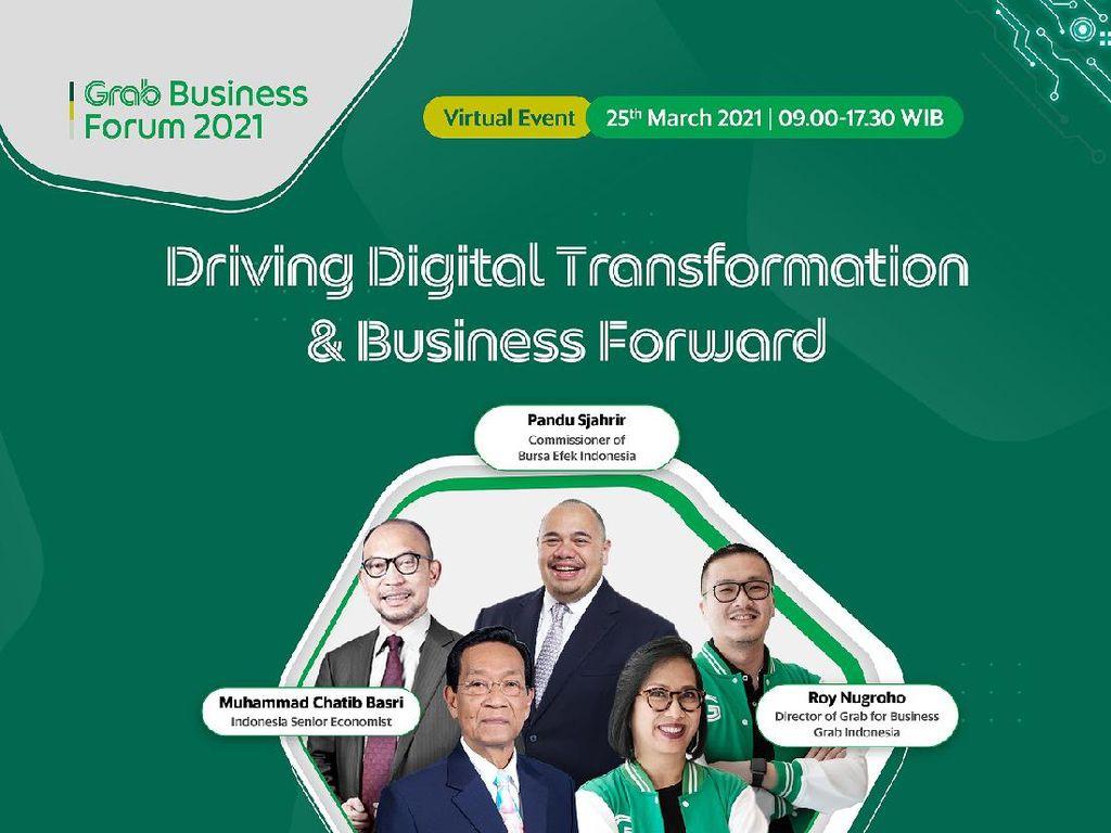 Sri Sultan HB X Akan Bicara di Grab Business Forum 2021
