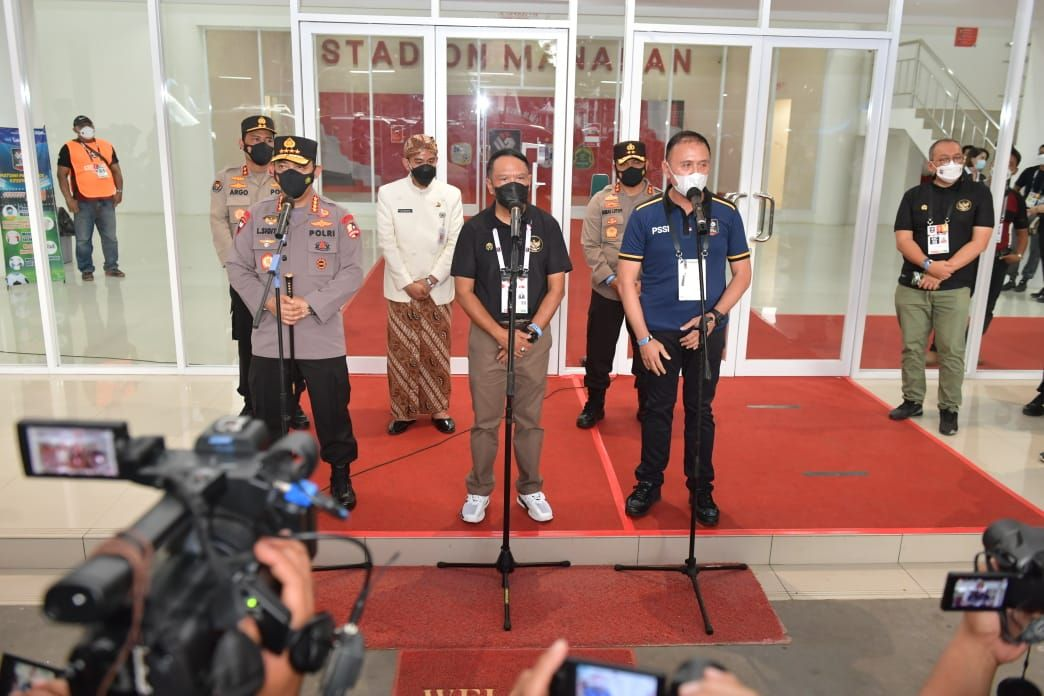 Kapolri Jenderal Listyo Sigit Prabowo Tinjau Piala Menpora