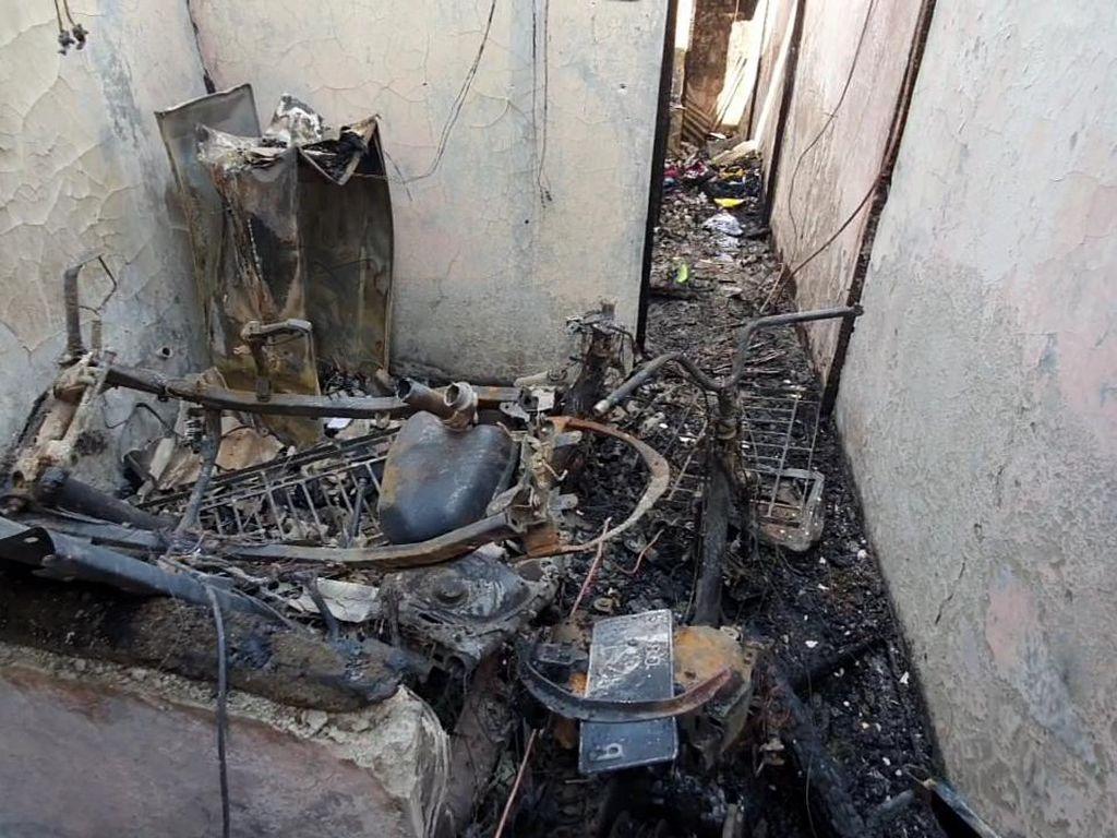 Penampakan Lokasi Kebakaran di Matraman yang Tewaskan 10 Orang