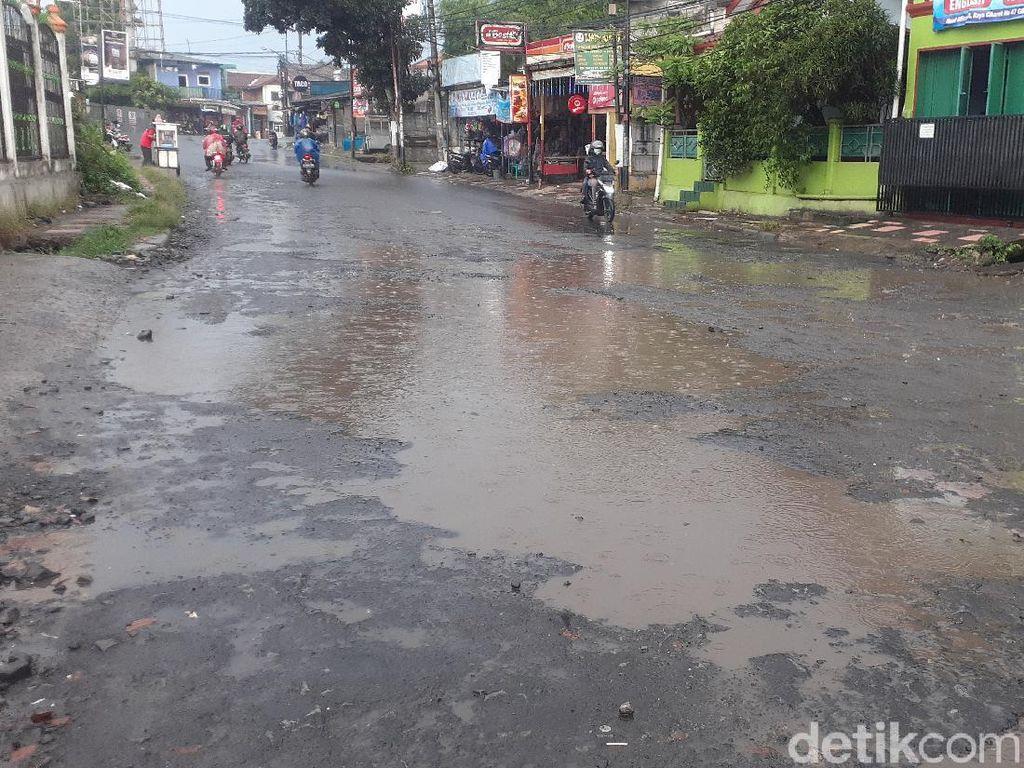 Usai Kembali Diperbaiki, Begini Kondisi Jl Cikaret Bogor yang Kerap Rusak